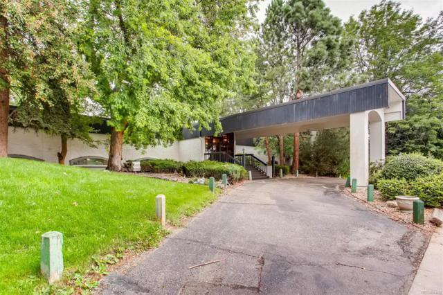 2355 S Linden Court C001, Denver, CO 80222 (#2127237) :: Wisdom Real Estate