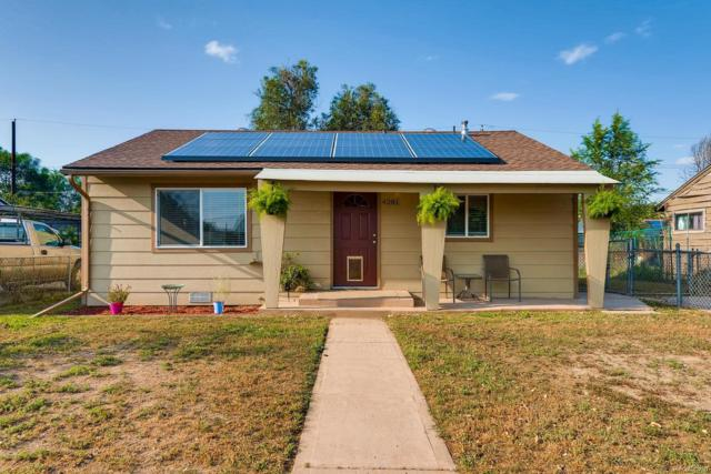 4281 E 69th Place, Commerce City, CO 80022 (#2129155) :: The Peak Properties Group