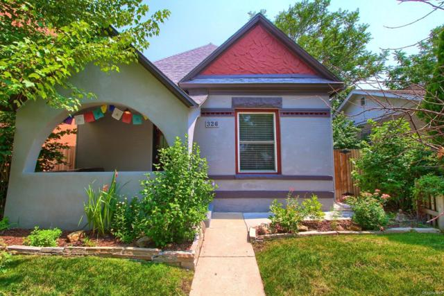326 S Washington Street, Denver, CO 80209 (#2132477) :: The Heyl Group at Keller Williams