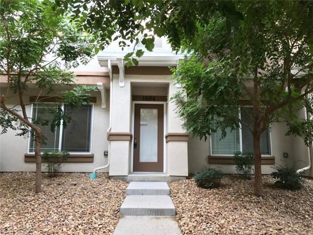 9300 E Florida Avenue #1604, Denver, CO 80247 (MLS #2134004) :: 8z Real Estate