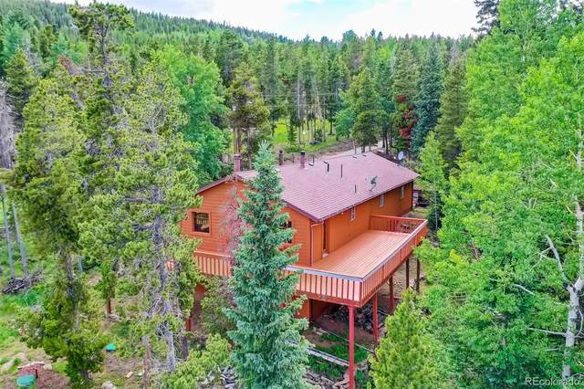 1123 Lodgepole Drive, Evergreen, CO 80439 (#2136717) :: The Margolis Team
