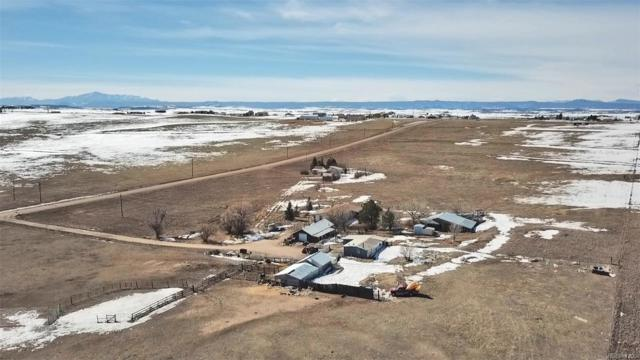 1237 County Road 118, Elizabeth, CO 80107 (#2137446) :: Bring Home Denver