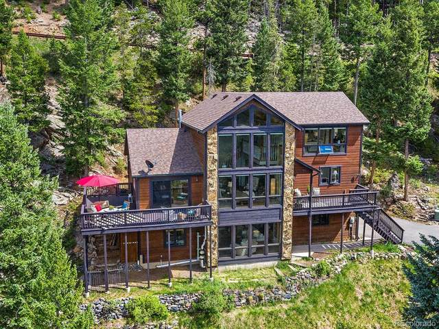 29451 Falcon Ridge Drive, Evergreen, CO 80439 (#2138811) :: The DeGrood Team