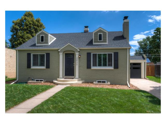2830 Forest Street, Denver, CO 80207 (MLS #2141328) :: 8z Real Estate