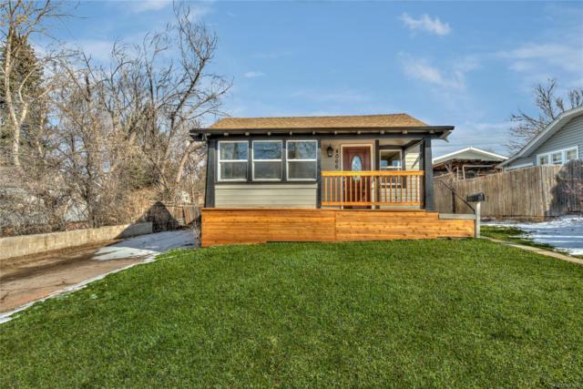 4066 S Cherokee Street, Englewood, CO 80110 (#2142627) :: The HomeSmiths Team - Keller Williams