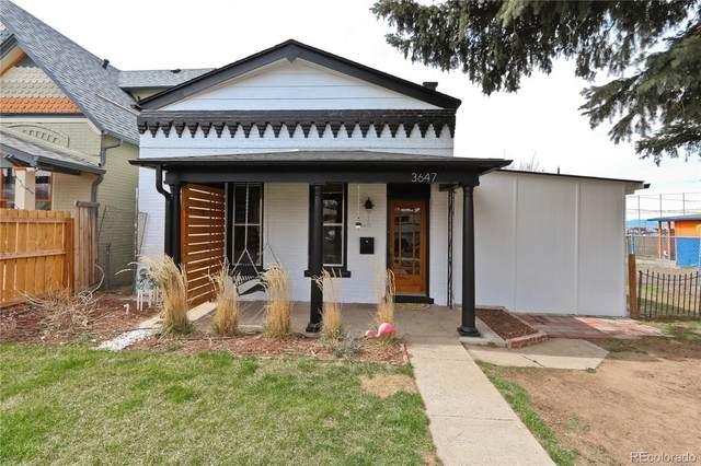 3647 N Fillmore Street, Denver, CO 80205 (#2154409) :: Bring Home Denver with Keller Williams Downtown Realty LLC