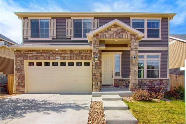 4827 S Buchanan Street, Aurora, CO 80016 (#2159124) :: The Peak Properties Group