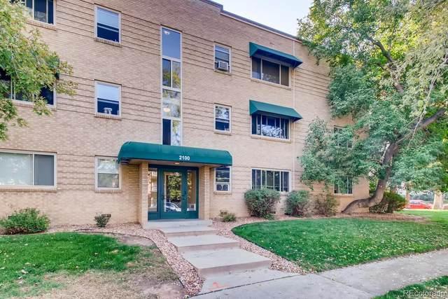 2100 N Franklin Street #14, Denver, CO 80205 (#2161513) :: The HomeSmiths Team - Keller Williams