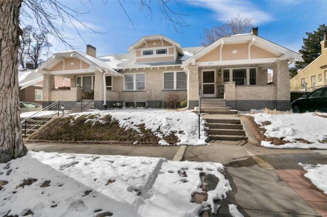 647 N Ogden Street, Denver, CO 80218 (#2165849) :: 5281 Exclusive Homes Realty
