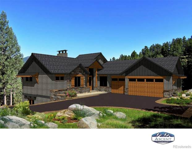 5177 Mountain Vista Lane, Evergreen, CO 80439 (#2168630) :: The DeGrood Team