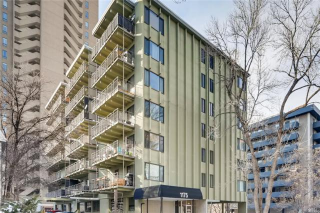 1175 Vine Street #506, Denver, CO 80206 (#2174761) :: James Crocker Team