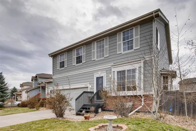 4716 S Ireland Court, Aurora, CO 80015 (#2176955) :: The Healey Group