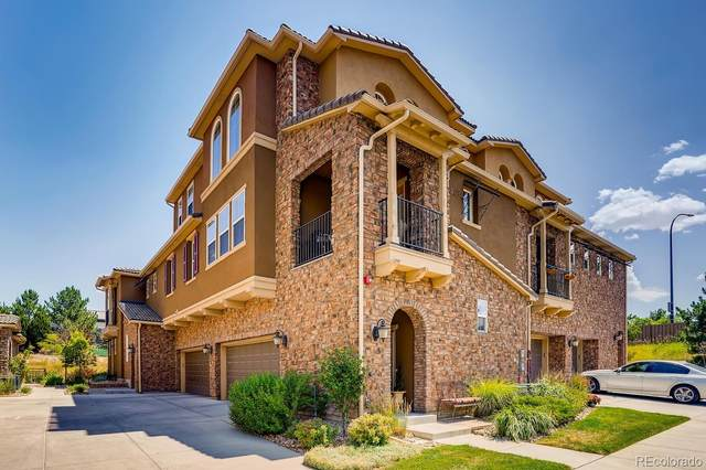 9518 Loggia Street D, Highlands Ranch, CO 80126 (#2177473) :: The Griffith Home Team
