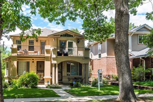 695 S Corona Street, Denver, CO 80209 (#2178402) :: Wisdom Real Estate