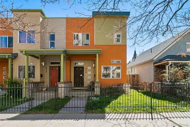 628 Inca Street, Denver, CO 80204 (#2183342) :: James Crocker Team