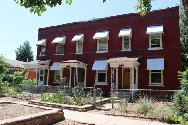 3035 Gilpin Street, Denver, CO 80205 (#2193249) :: Structure CO Group