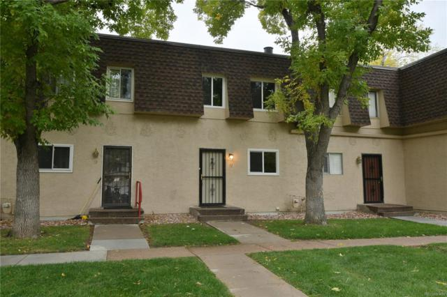7755 E Quincy Avenue T52, Denver, CO 80237 (#2194829) :: The DeGrood Team