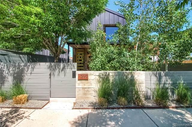 2449 Lawrence Street, Denver, CO 80205 (#2201541) :: The HomeSmiths Team - Keller Williams