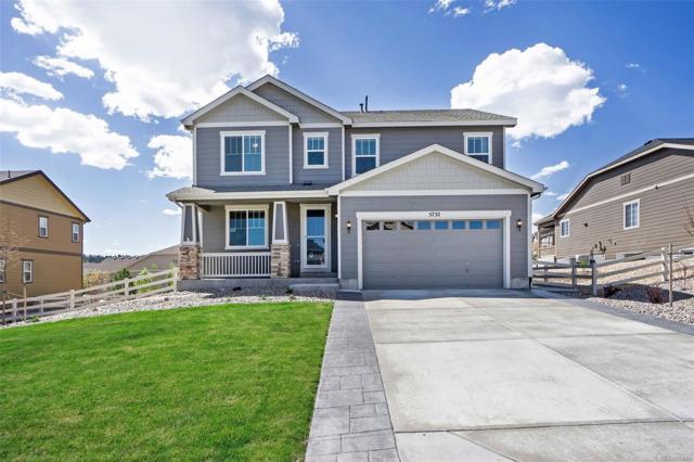 5732 Golden Field Lane, Castle Rock, CO 80104 (#2202171) :: House Hunters Colorado