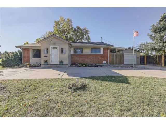 4358 E Fremont Place, Centennial, CO 80122 (#2204905) :: The Sold By Simmons Team