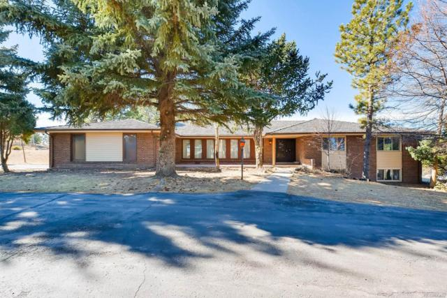 9434 Piney Creek Road, Parker, CO 80138 (#2208776) :: The Pete Cook Home Group