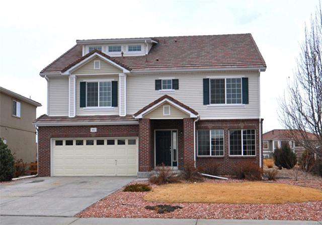 6411 S Ouray Street, Aurora, CO 80016 (#2208900) :: The Peak Properties Group