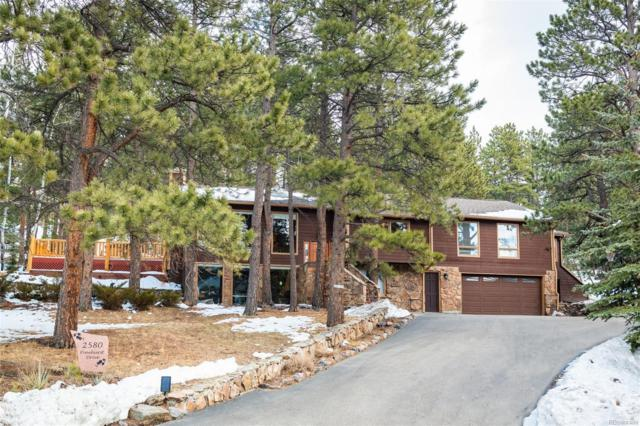 2580 Pinehurst Drive, Evergreen, CO 80439 (#2209865) :: Colorado Home Finder Realty
