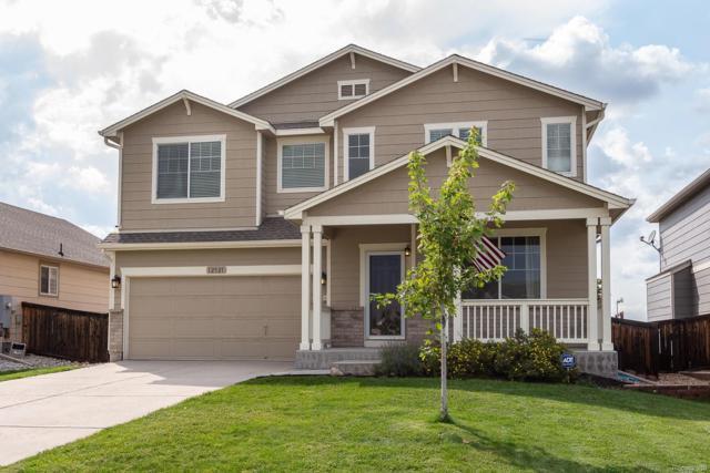 12521 S Sopris Creek Drive, Parker, CO 80134 (#2210090) :: The Pete Cook Home Group