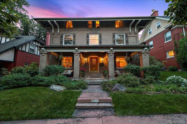 651 N Emerson Street, Denver, CO 80218 (#2214075) :: The Griffith Home Team