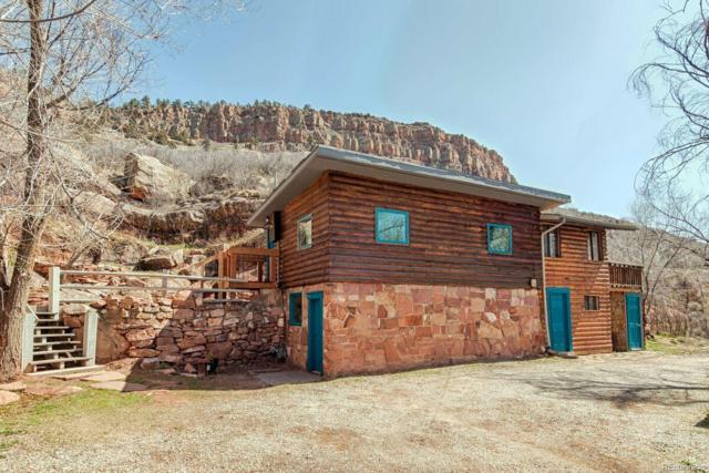 18621 N St Vrain Drive, Lyons, CO 80540 (#2214988) :: The Peak Properties Group