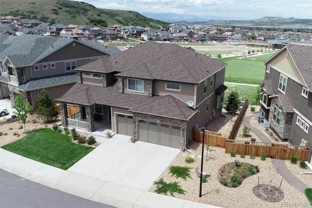 3875 Hourglass Avenue, Castle Rock, CO 80109 (#2221512) :: The Peak Properties Group