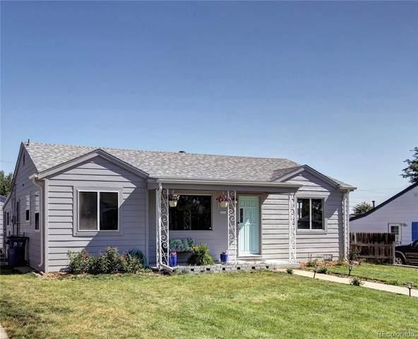 1295 W Ohio Avenue, Denver, CO 80223 (MLS #2230325) :: 8z Real Estate