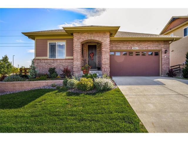 20411 E Shady Ridge Road, Parker, CO 80134 (MLS #2232342) :: 8z Real Estate