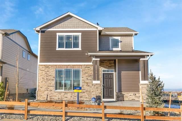 6882 Longpark Drive, Parker, CO 80138 (#2233520) :: The Peak Properties Group