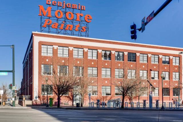 2500 Walnut Street #107, Denver, CO 80205 (MLS #2233563) :: 8z Real Estate