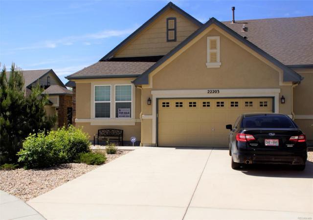 22203 E Euclid Drive, Aurora, CO 80016 (MLS #2238383) :: 8z Real Estate