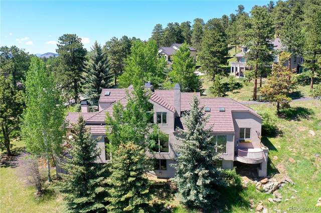 31218 Whistler Court, Evergreen, CO 80439 (#2239671) :: The Colorado Foothills Team | Berkshire Hathaway Elevated Living Real Estate