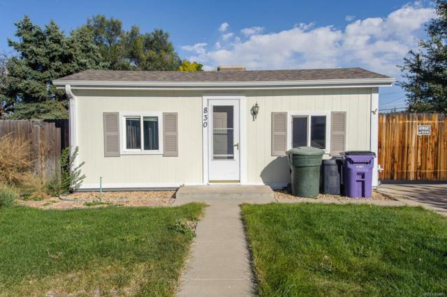 830 S Leyden Street, Denver, CO 80224 (#2241686) :: The Galo Garrido Group