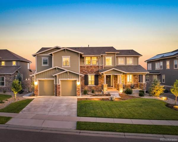 11609 Pine Canyon Drive, Parker, CO 80138 (#2245597) :: Wisdom Real Estate