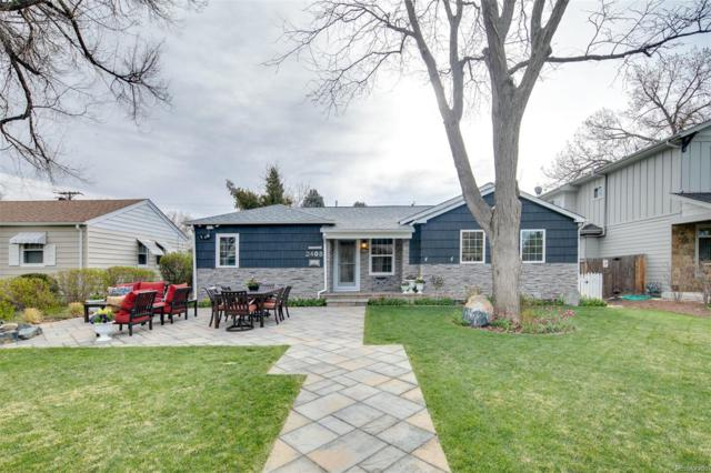 2408 S Madison Street, Denver, CO 80210 (#2248530) :: The Peak Properties Group