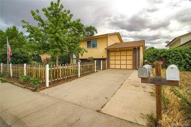 1003 Platte Drive, Fort Lupton, CO 80621 (#2249670) :: The Griffith Home Team