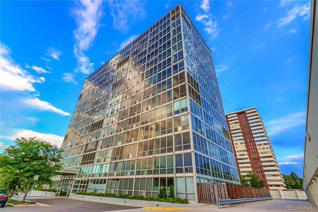 3100 E Cherry Creek South Drive #1104, Denver, CO 80209 (#2252232) :: The Dixon Group