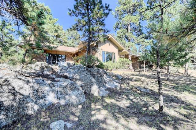 2374 El Dorado Lane, Evergreen, CO 80439 (#2256442) :: The Peak Properties Group
