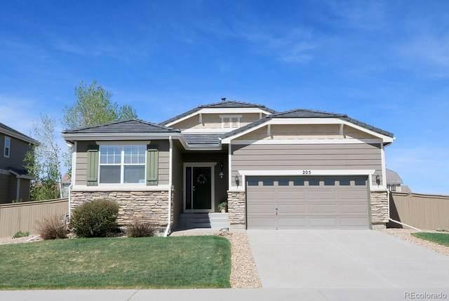 205 Lovington Street, Castle Rock, CO 80104 (#2259994) :: Mile High Luxury Real Estate