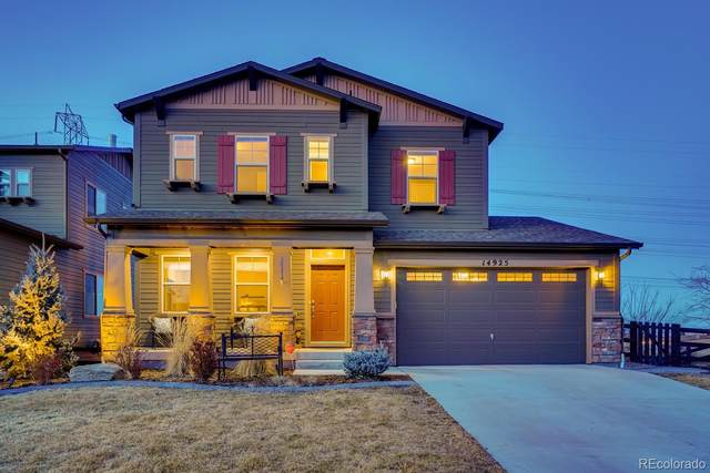 14925 Haley Avenue, Parker, CO 80134 (#2261483) :: The Harling Team @ Homesmart Realty Group