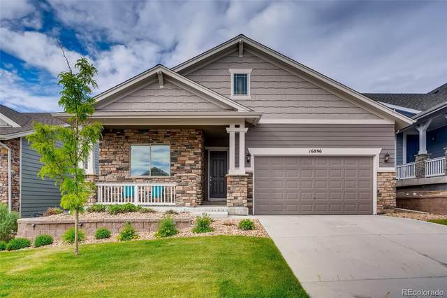 16896 W 85th Lane, Arvada, CO 80007 (#2262516) :: The DeGrood Team