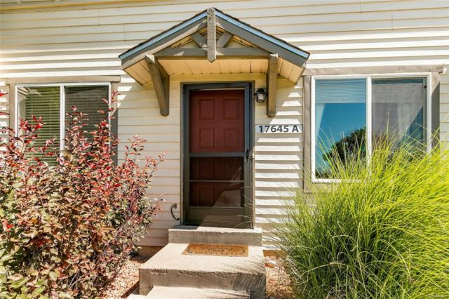 17645 E Loyola Drive A, Aurora, CO 80013 (MLS #2267766) :: 8z Real Estate