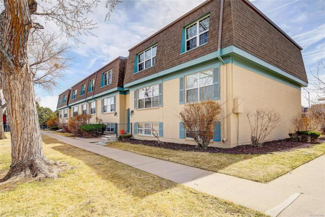 9440 E Girard Avenue #5, Denver, CO 80231 (#2268515) :: The Dixon Group