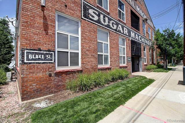 3309 Blake Street #104, Denver, CO 80205 (MLS #2277934) :: 8z Real Estate