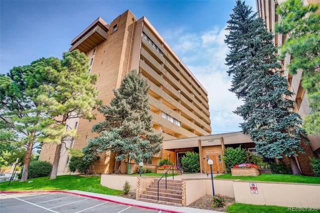 8060 E Girard Avenue #605, Denver, CO 80231 (#2278562) :: The Griffith Home Team
